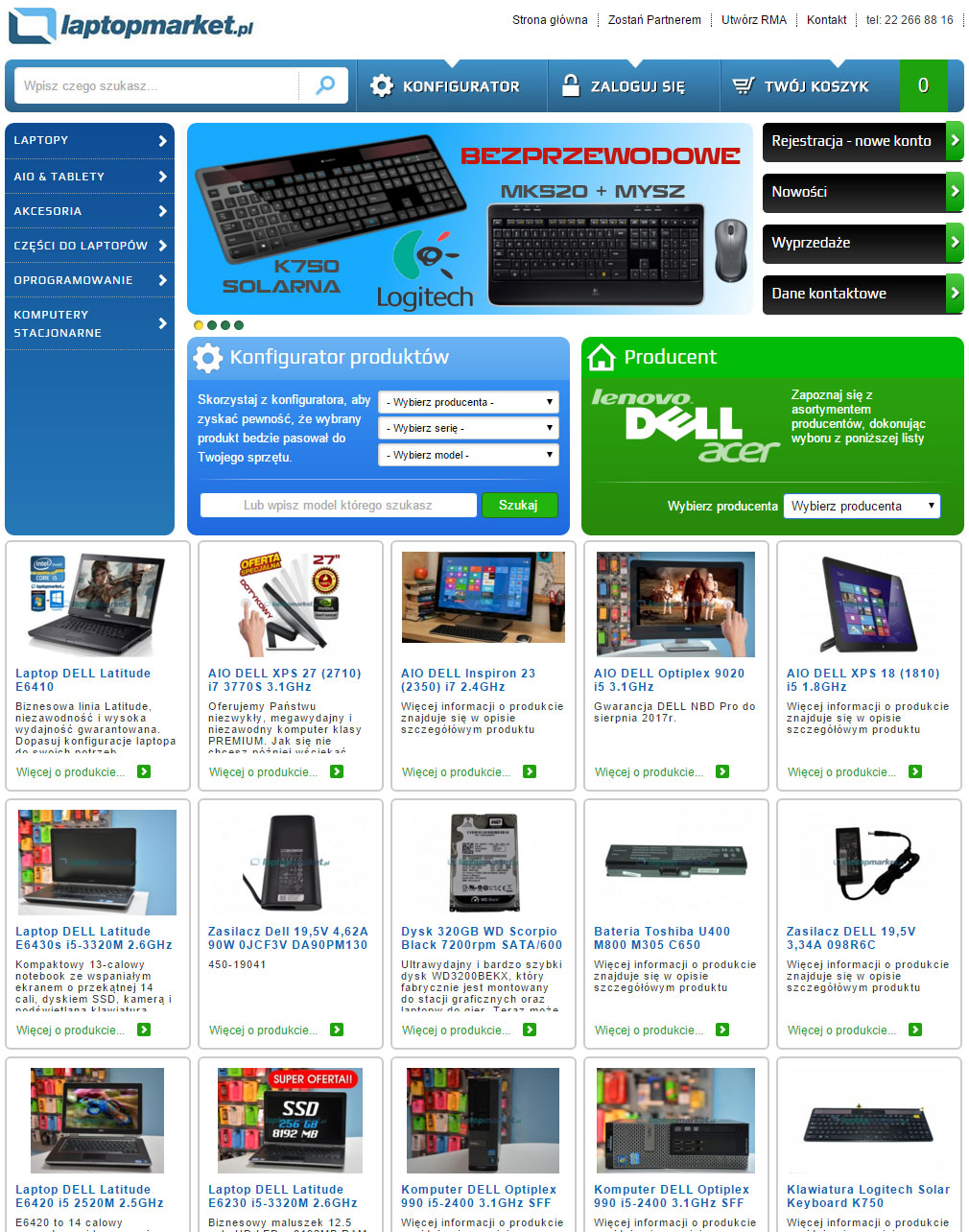Laptopmarket.pl - części i akcesoria